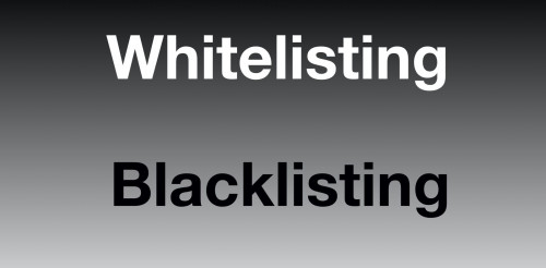 Is it racism using the words whitelisting and blacklisting? Have your say